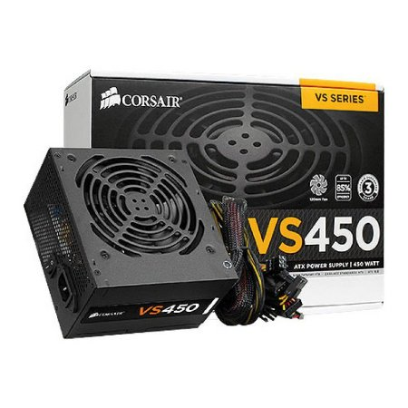 Fonte Corsair VS450 450W 80 Plus White