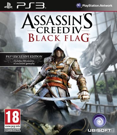 Assassins Creed 4 Black Flag PS# Usado