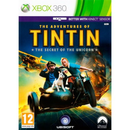 The Adventures of Tintin The Game Xbox 360 Usado