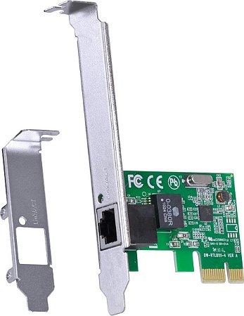 Placa de Rede PCIe  10/100 Mbps PVR100E