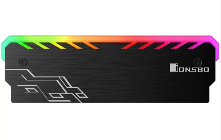 Dissipador Gamer de Calor para Memória RGB ( Universal )