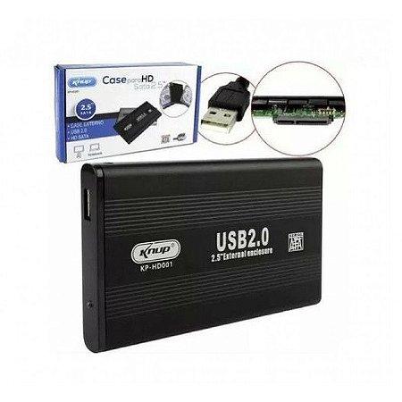 Case HD SATA 2.5 USB 2.0 - KNUP KP-HD001