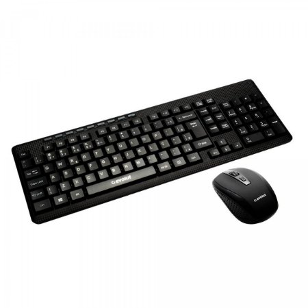 Combo Teclado e Mouse Wireless Evolut Office EO-501