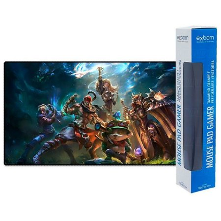 Mouse Pad Lol League of Legends Extra Grande Speed