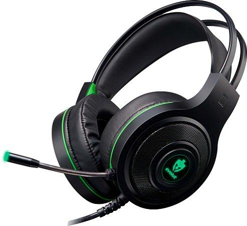 Headset Gamer Evolut Têmis Green