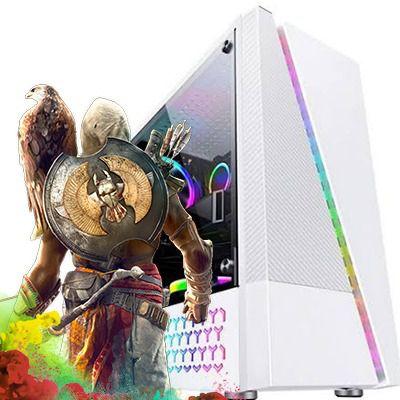 Computador Intervia Nubius AMD Ryzen 5 3600 3.60 Ghz Six Core + 8GB DDR4 + SSD 240GB + RX 570 8GB DDR5
