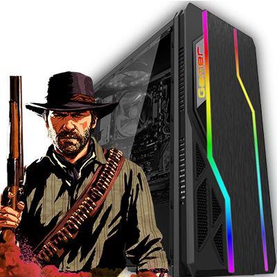 Computador Nebula Core i5 9400F 2.90 Ghz 9ª Geração + 8GB DDR4 + SSD 240GB + Radeon RX 550 4GB DDR5 + Gabinete