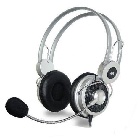 Fone de ouvido c/ microfone exbom infokit hm-610mv cinza