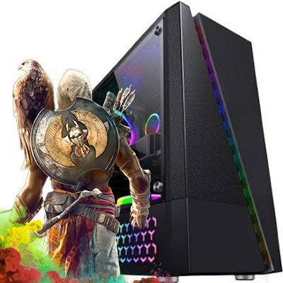 Computador  Intervia AMD Ryzen 5 1600 3.20Ghz Six Core + 8GB DDR4 + HD SSD 240GB + GTX 1650 4GB DDR5