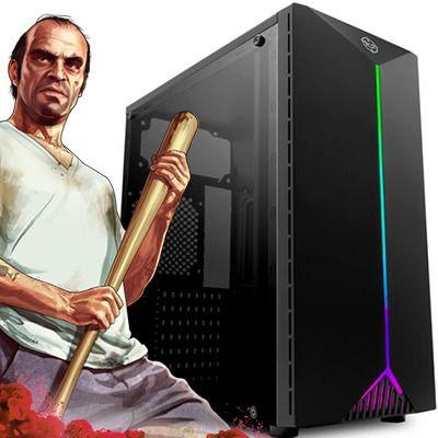 Computador Intervia Paladins Ryzen 3200G 3.60Ghz + 16GB DDR4 Dual + HD SSD 240GB + Ati Radeon Vega 8