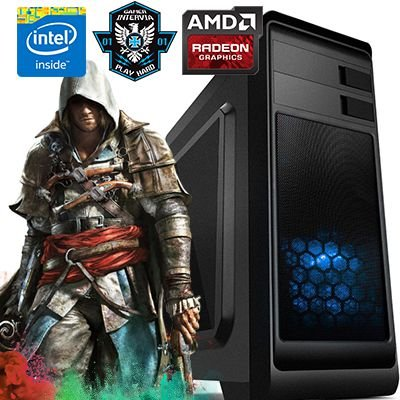 Computador Gamer Alioth Intervia Core i3 4150 3.50 Ghz + 8GB + HD SSD 240GB + Geforce GTS 450 2GB DDR5