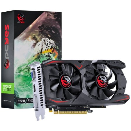 PLACA DE VIDEO NVIDIA GEFORCE GTS 450 2GB GDDR5 128 BITS DUAL-FAN - PA45012802G5