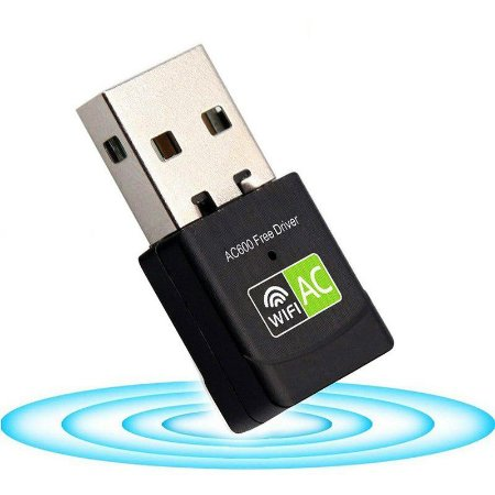 Adaptador Wireless Dual Band 600Mbps 5G Nano
