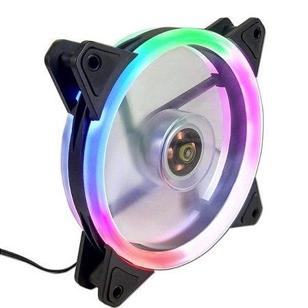 Cooler Gamer G-Fire LED RAINBOW, 12cm - EW0509R