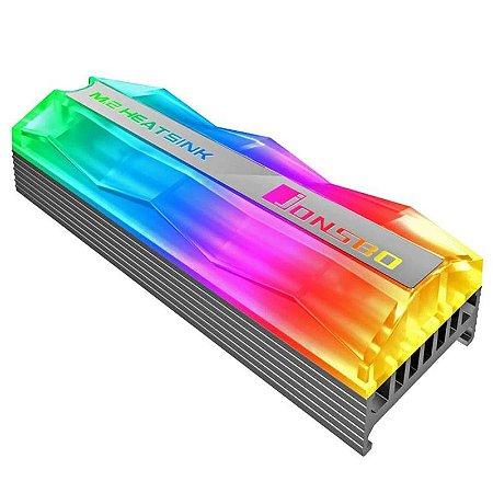 Dissipador de Calor Gamer RGB SSD M2 2280