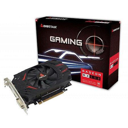 PLACA DE VIDEO BIOSTAR RADEON RX 550 4GB DDR5 128 BITS