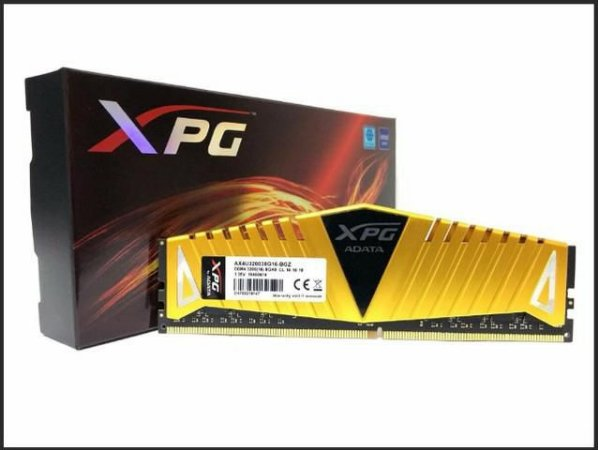 Memoria Gamer Adata XPG 16GB DDR4 3200 Mhz Yellow