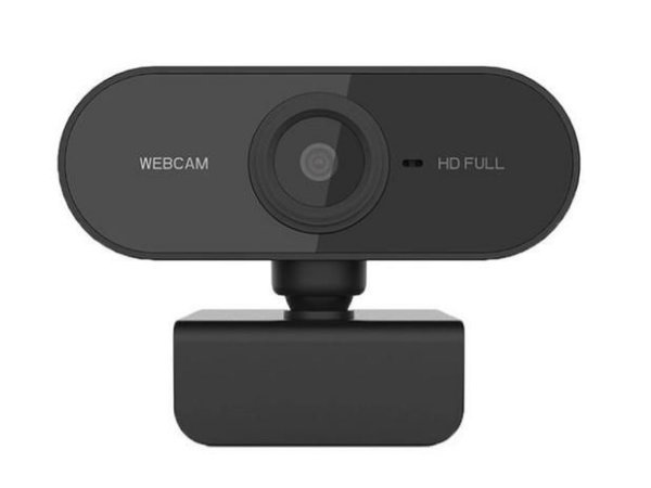 Webcam Full Hd 1080P Usb Mini Câmera De Visão 360º Microfone