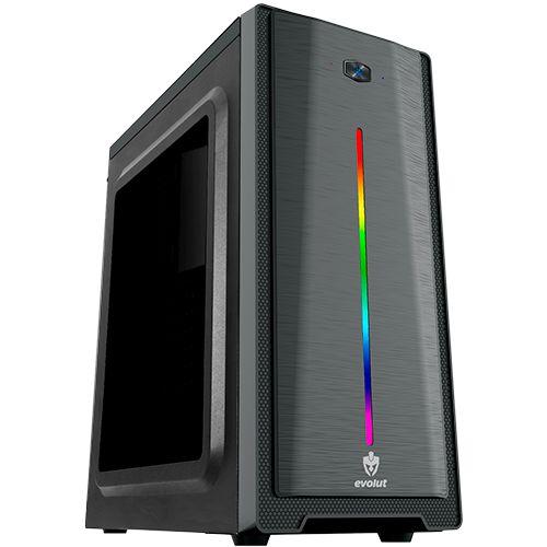 Gabinete Gamer Evolut RGB Gamma