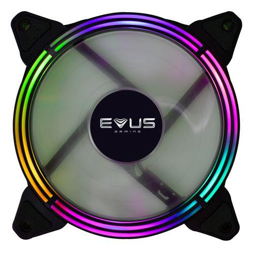 COOLER GAMER EVUS RGB LED F-12RGB