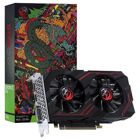 PLACA DE VIDEO NVIDIA GEFORCE GTX 1650 4GB GDDR6 128 BITS DUAL-FAN GRAFFITI SERIES - PA1650412820DR6
