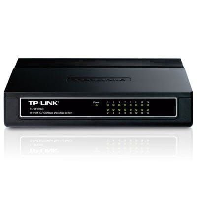 Switch 16 Portas 10/100Mbps TP-Link - TL-SF1016D