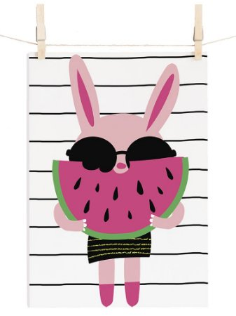 POSTER CUTE MELI STRIPES