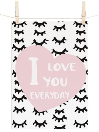 POSTER LOVE EVERYDAY CILIOS