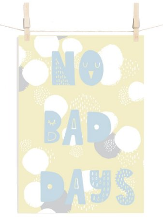 POSTER CANDY NO BAD DAYS PIPOCA