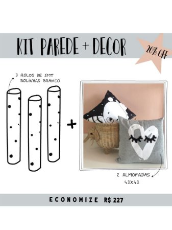 KIT PAREDE + DECOR