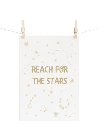 POSTER MYSTICONA REACH FOR THE STARS