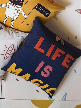 CAPA DE ALMOFADA MYSTICONA LIFE IS MAGIC