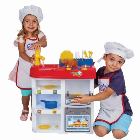 Cozinha Infantil Master Chef Kids - Magic Toys