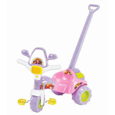 Triciclo Infantil Tico Tico Meg Rosa - Magic Toys