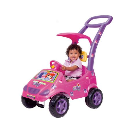 Roller Baby Versátil Meg Rosa C/ Empurrador - Magic Toys