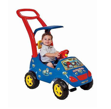 Roller Baby Versátil Max Azul C/ Empurrador - Magic Toys