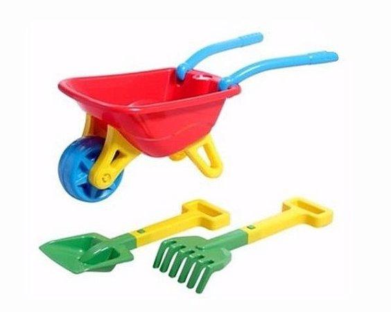 Big Carriola Infantil C/ Acessórios - Magic Toys