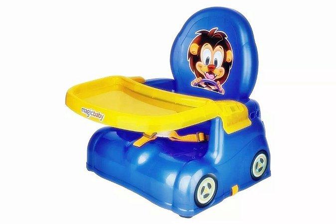 Cadeira Papinha Leão Azul - Magic Toys