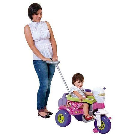 Triciclo Tico Tico Bichos Rosa C/ Som e Luzes - Magic Toys