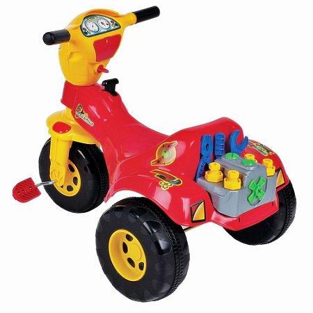 Triciclo Infantil Tico Tico Mecânico - Magic Toys