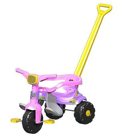 Triciclo Infantil Tico Tico Festa Rosa - Magic Toys