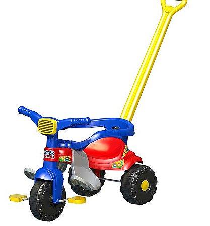 Triciclo Infantil Tico Tico Festa Azul - Magic Toys