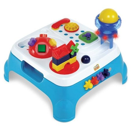 Mesa Maxi Atividades Azul C/ Som - Magic Toys
