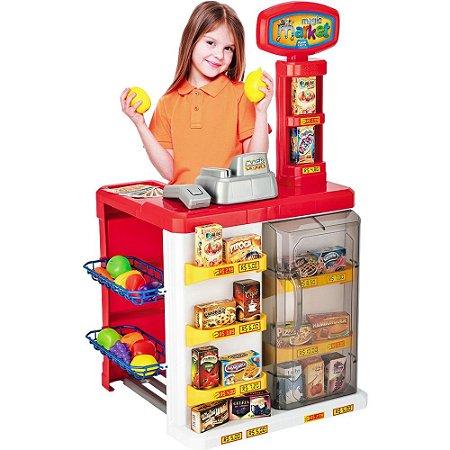 Mini Mercadinho Infantil Magic Market - Magic Toys