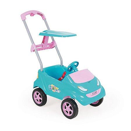 Carrinho de Passeio Infantil Baby Car Turquesa - Homeplay
