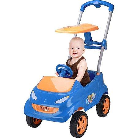 Carrinho de Passeio Infantil Baby Car Azul - Homeplay