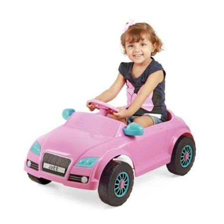 Carro a Pedal Infantil Audi ATT Rosa - Homeplay