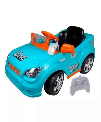 Carro Elétrico Infantil C/ Controle Remoto Azul - Homeplay