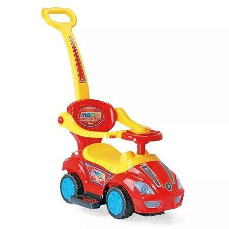 Andador Infantil C/ Empurrador Mega Car - Homeplay