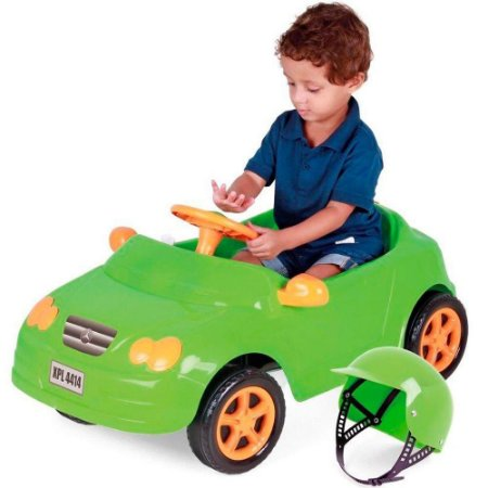 Carro a Pedal Infantil Mercedes Verde - Homeplay